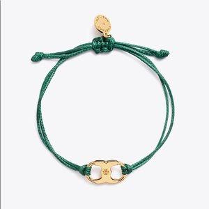 Tory Burch Embrace Ambition Bracelet Green